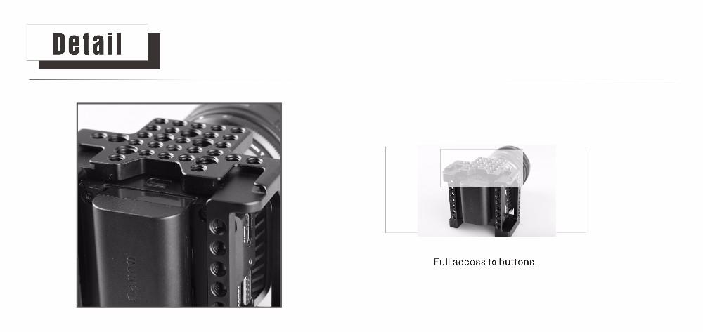 ถูก SmallRigกรงสำหรับBlackmagicไมโครCinemaหรือBlackmagicไมโครสตูดิโอกล้อง----- 1773