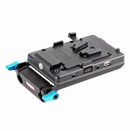 Free Shipping Black Magic 5D2 Power Supply Muitl Output Adaptor USB V-mount for Camera DSLR battery<br><br>Aliexpress