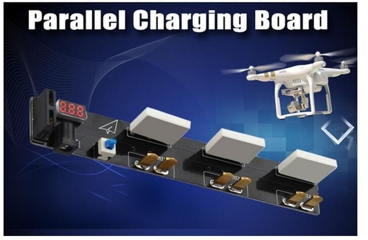 DJI phantom 3 1pcs Accessories Battery Chargers Multi-charging board Fast and filling plates free shipping