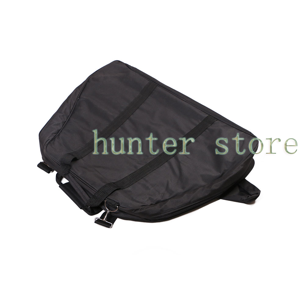a Triangle Compound Bow Bag Outdoor Archery Bow Hunting Case Deluxe Nylon Bows and Arrows Bag