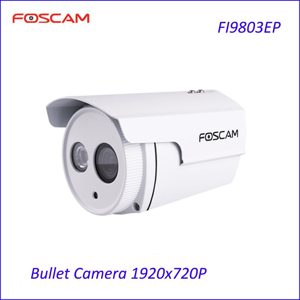 Foscam FI9803EP P2P 1.0 Megapixel 720p H.264 Outdoor Power Over Ethernet IP Camera security CCTV IP Camera(China (Mainland))
