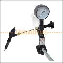 Бесплатная доставка дизель форсунка поп-воздушными тестер топливной форсунки инжектора с 0 — 400 бар / 0 — 6000 PSI двойной шкала