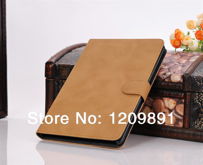Retro SAFFIANO PU  Leather  Cover with Stand support  Briefcase tablet cases bag cover for apple ipad mini 2 mini Free shipping<br><br>Aliexpress