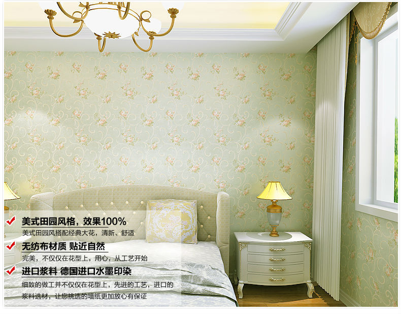 Flowers home decoration mural wallpaper diy renovator for Bathroom mural wallpaper
