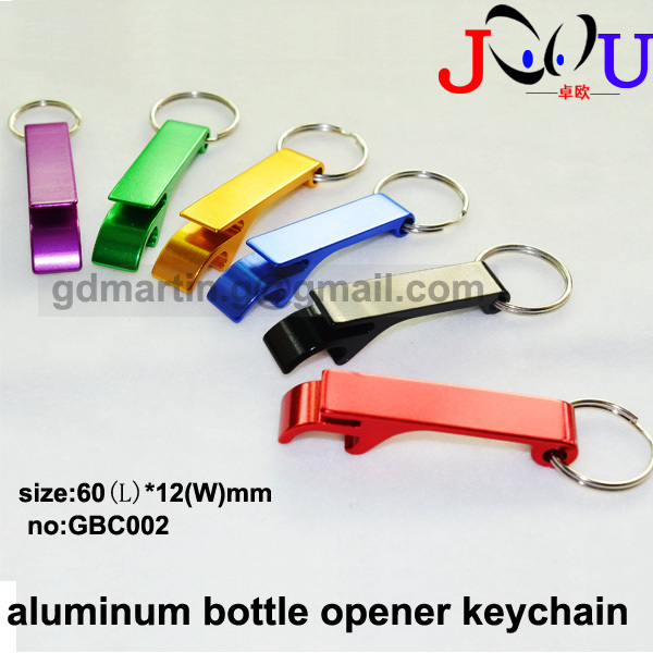 (500pcs/lot)Top selling customized mental bottle opener key ring/Mulitl colors/size:60*12mm/best promotion gifft/free shipping(China (Mainland))