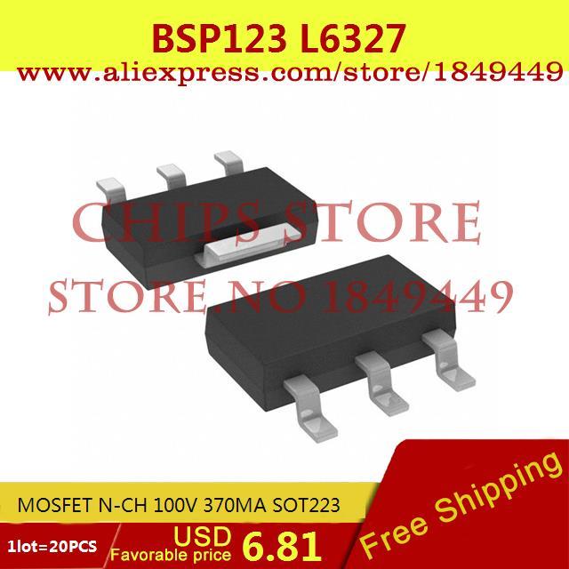 Цена BSP123 L6327