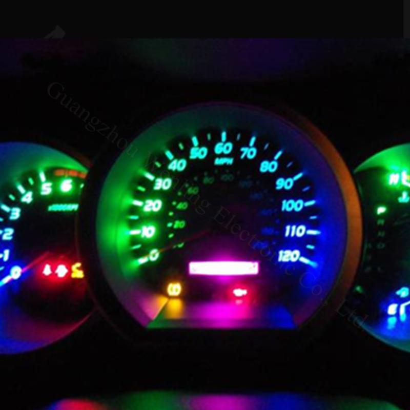 4 x 12 В силиконовые оболочки удара из светодиодов T10 из светодиодов W5W из светодиодов освещение приборов свет для форд корона виктория рейнджер телец