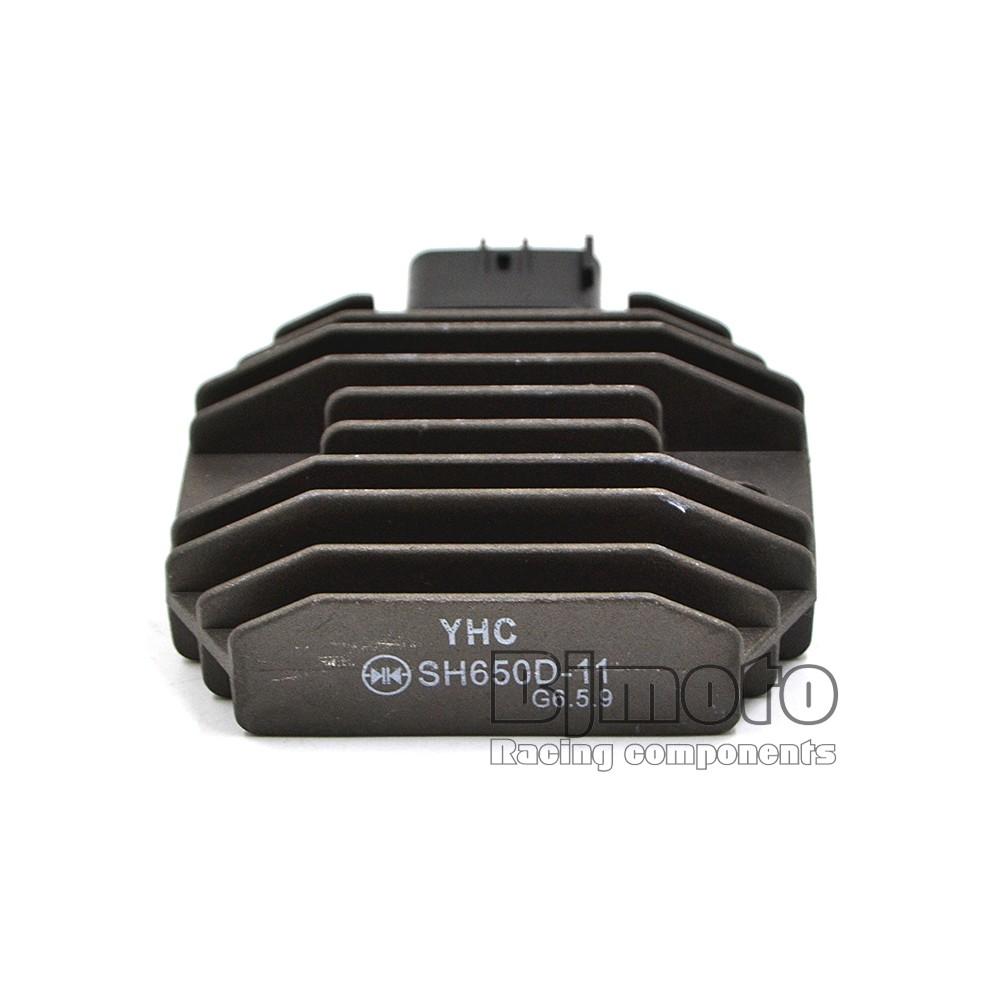 YHC SH650D 11 регулятор напряжения мотоцикла выпрямитель для Yamaha YZF R6 FZ6R WR250R TMAX XP500 XVS1100 DSC_0033