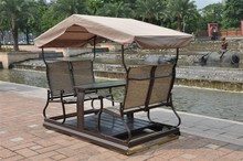 Full aluminum alloy high quality rocking chair outdoor swing luxury concentretor for 4 people new arrival(China (Mainland))