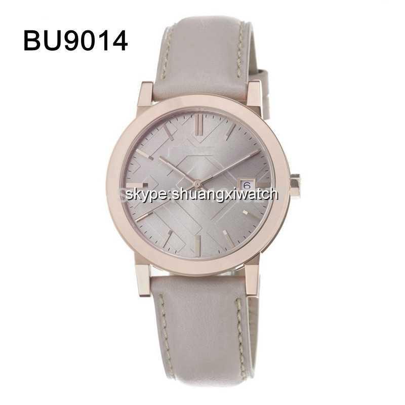 New men wristwatch beige band and beige dial gent watch BU9014 9014+Original Box(China (Mainland))