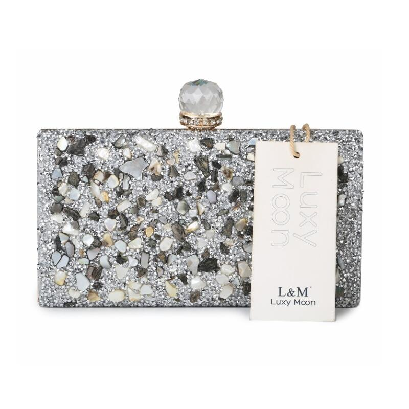 Popular Evening Bag Clutch Silver-Buy Cheap Evening Bag Clutch ...