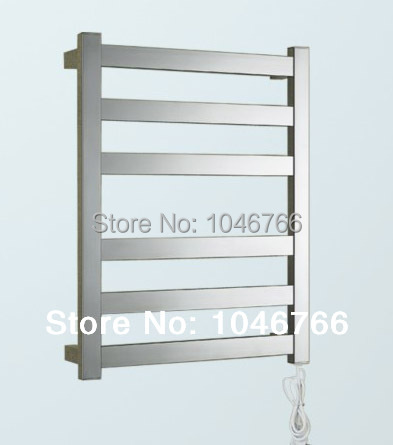 304 stainless steel heated towel rack, towel radiator , electric towel rail, bathroom accessories 5 years warranty(China (Mainland))
