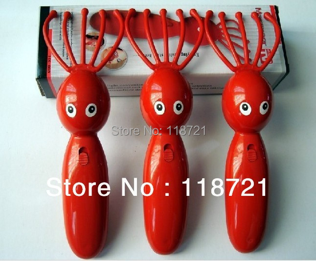 Hot-Free Shipping Head massager/Octupus Face Massager Easy carry and good for your life(China (Mainland))
