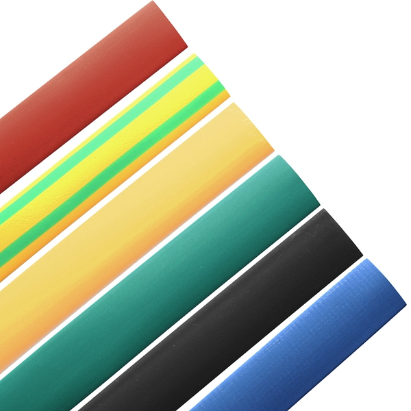 Best Promotion 1M 4 0mm 7 Color 2 1 Polyolefin Heat Shrink Tubing Tube Sleeve Sleeving