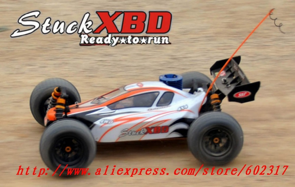 RC Nitro Car Model 1/10 4X4 2.4G transmitter Off-Road Buggy Stuck XBD 1986 RTR brushless ESC ready to run Hot toys(China (Mainland))