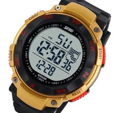 Nuevos hombres reloj deportivo reloj LED Digital marca militar relojes moda Digital vestido de pulsera Casual