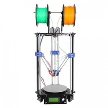 DIY 3D Printer Delta Rostock Mini G2s DIY Kit With Auto-leveling Double Extruder