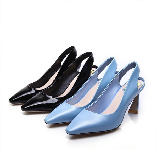 2015 summer new closed toe high hells solid color high-heeled shoes breathable and comfortable shoes for women D989