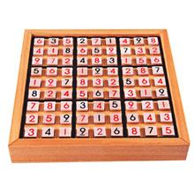 Wooden Puzzle Sudoku Play Game Wood Toys for Children Intelligence Toys Puzzles for Children Rompecabezas Brinquedos Educativos(China (Mainland))