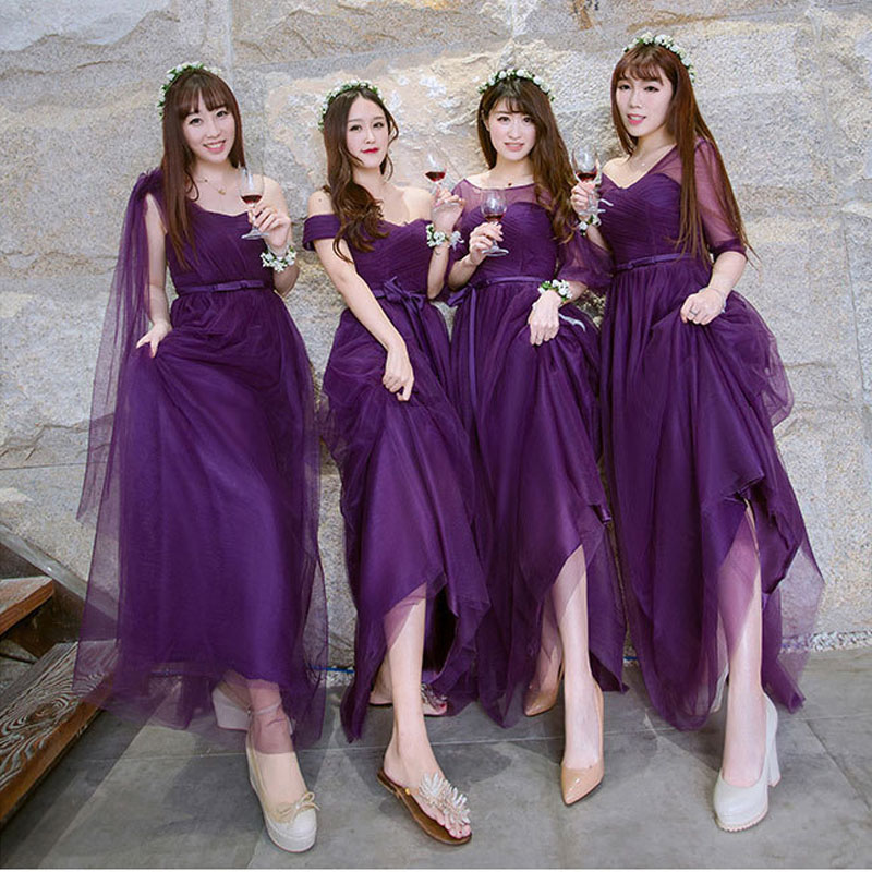 Cadbury Purple Bridesmaid Dresses - Cheap Wedding Dresses