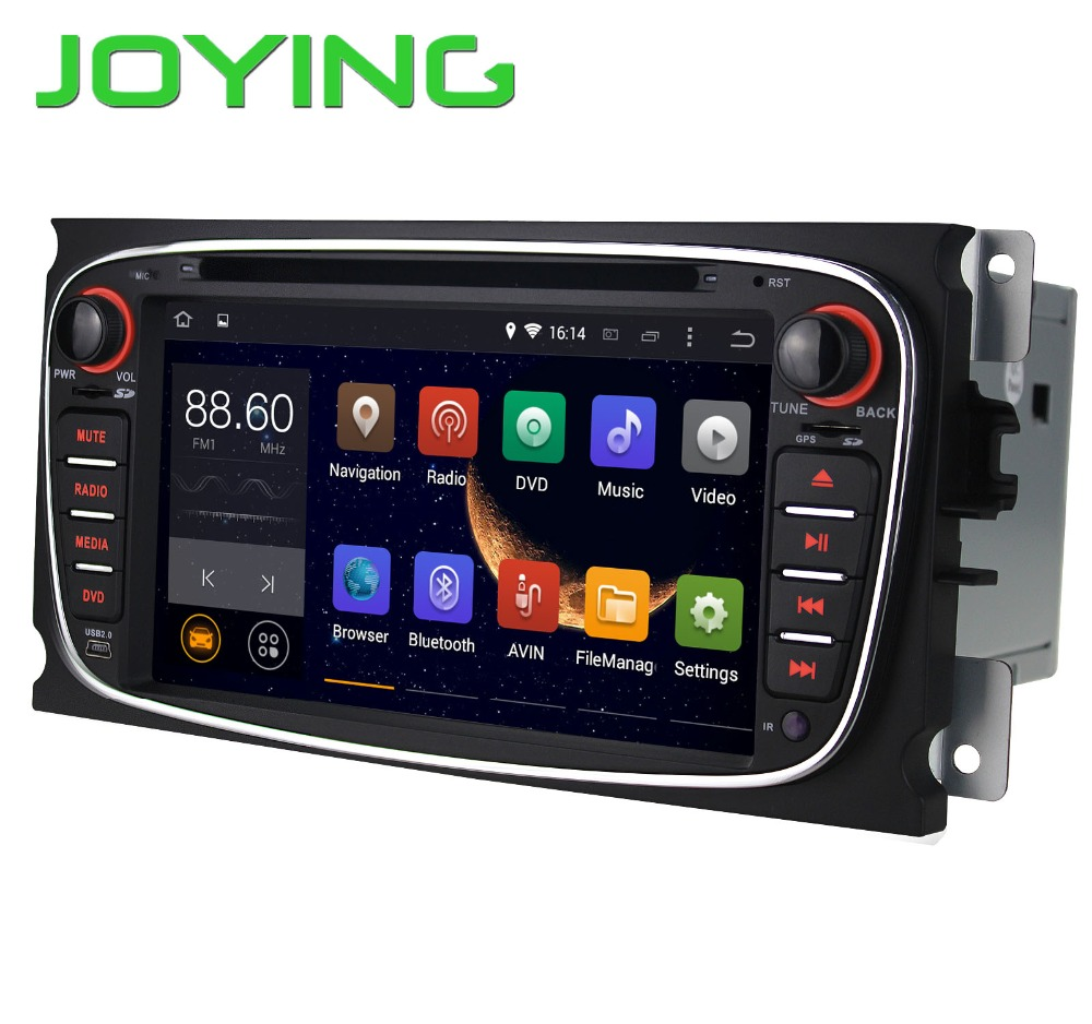 Double 2 Din Android 4.4 Quad Core 1024*600 Car DVD Player GPS Navi for Ford Focus Mondeo Galaxy 3G Audio Radio Stereo Head Unit(China (Mainland))