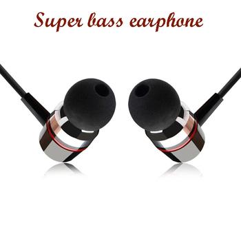 Супер бас прозрачный голос наушники металл - мобильная компьютер MP3 Universal 3,5 мм наушники потрясающий звук