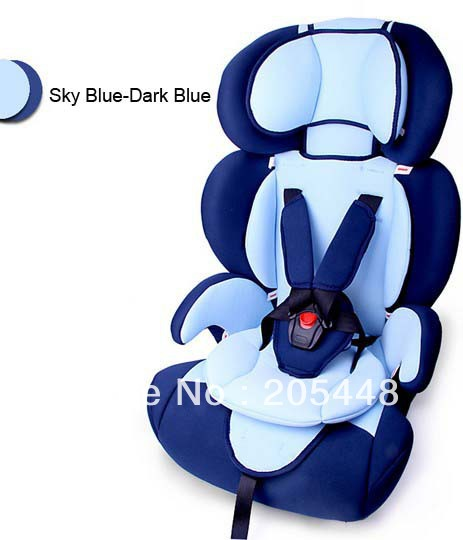 DHL Free shipping ECE Car child safety seat car baby car seat Safety Car Seat for Baby of 9Months -12 Years 6 Colors(China (Mainland))