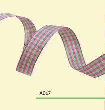 3/16″ Inch 5mm tartan ribbons