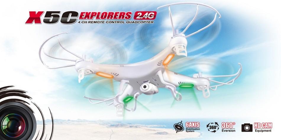 100% Original SYMA X5 X5A -1 X5C Explorers 2.4G 4CH 6-Axis Remote Control