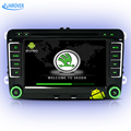 FREE SHIPPING quad core android car dvd player for Skoda octavia fabia rapid superb yeti car