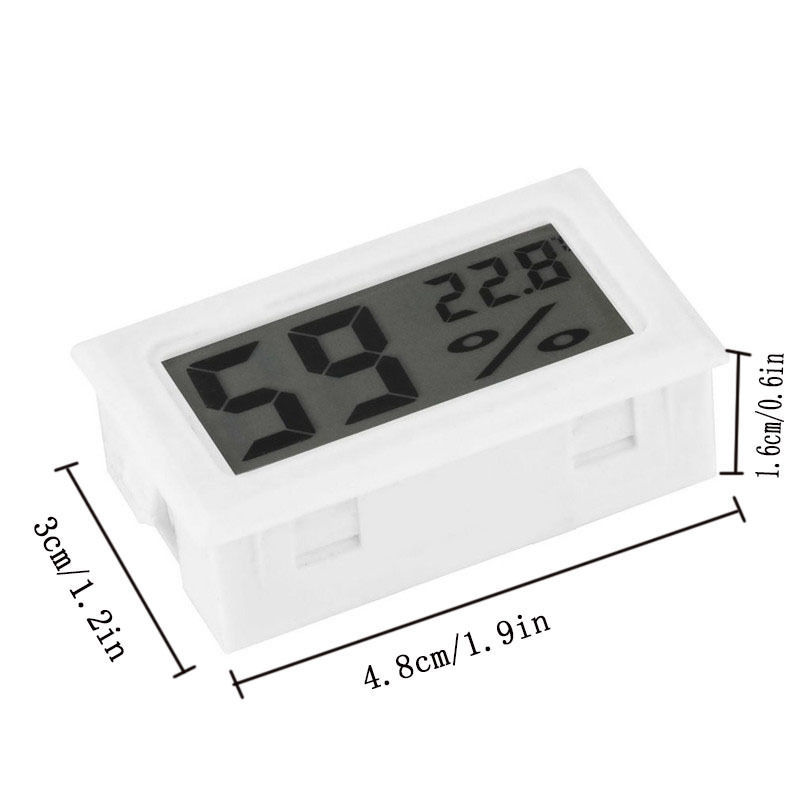 Mini Digital LCD Indoor Convenient Temperature Humidity Meter Thermometer Hygrometer Gauge Free Shipping 1815