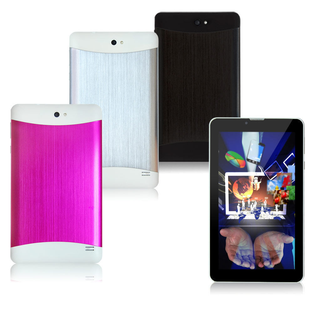 7 inch Dual SIM 3G GSM Android 4 2 MTK6572 ARM Cortex A7 Duai Core Phablet