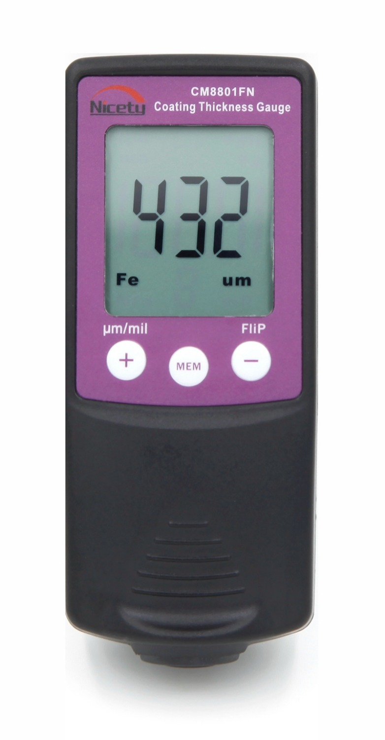 electronic thickness gauge digital CM8801FN readings in Metric (um) or Imperial units (mil)<br><br>Aliexpress