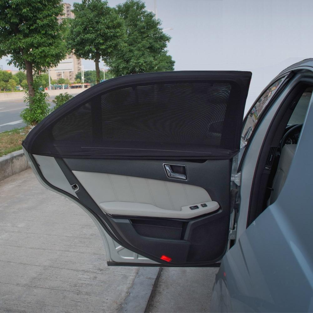 TFY Universal Side Window Sunshade - Fits Most of Car Models - 2 Piece(China (Mainland))