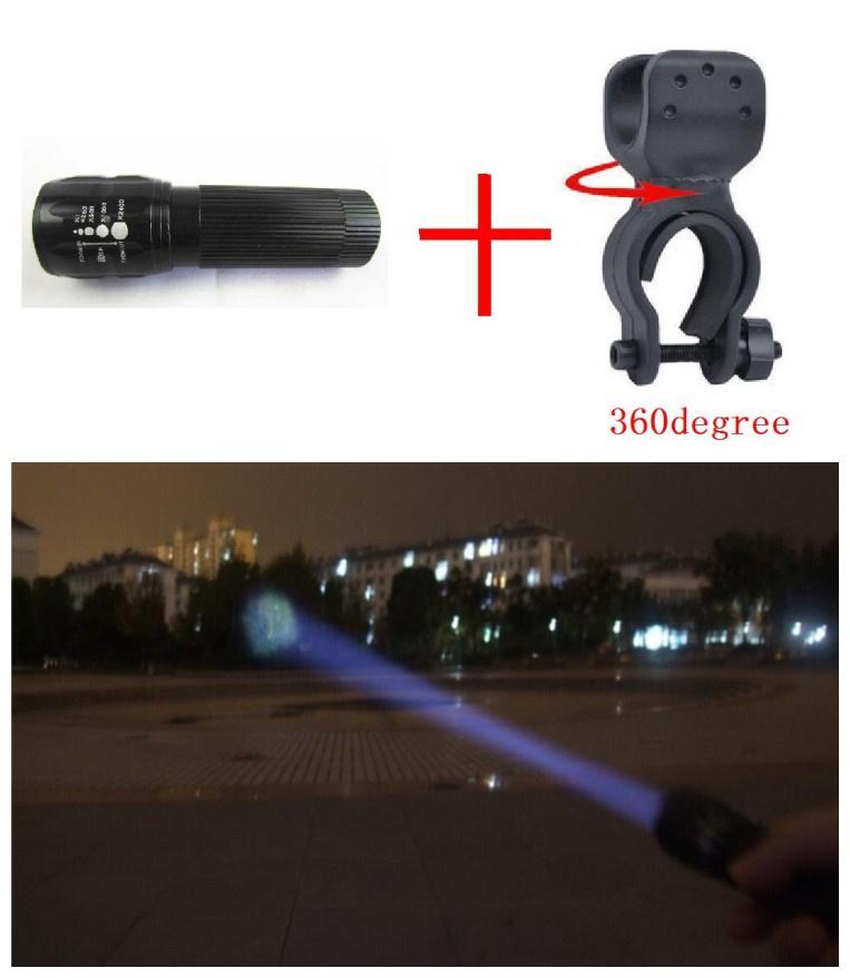 New Bicycle Light 7 Watt 2000 Lumens 3 Mode CREE Q5 LED cycling Front Light Bike lights Lamp Torch Waterproof cycling lights 27(China (Mainland))