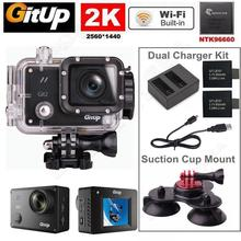 Buy Free shipping!Gitup Git2 Pro WiFi 2K Sports Camera+Battery+Charger+Triple suction Cup Stand for $139.99 in AliExpress store