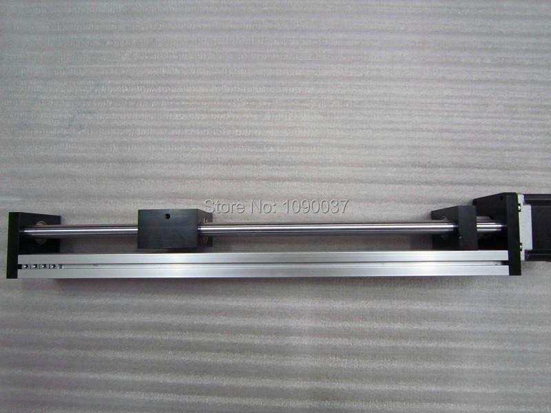 Купить T8 * 4 Т-типа Винт Линейный Этап Xy Z Оси Раздвижной Стол Модуль Полезный Ход 500 мм + Nema23 Шагового двигателя