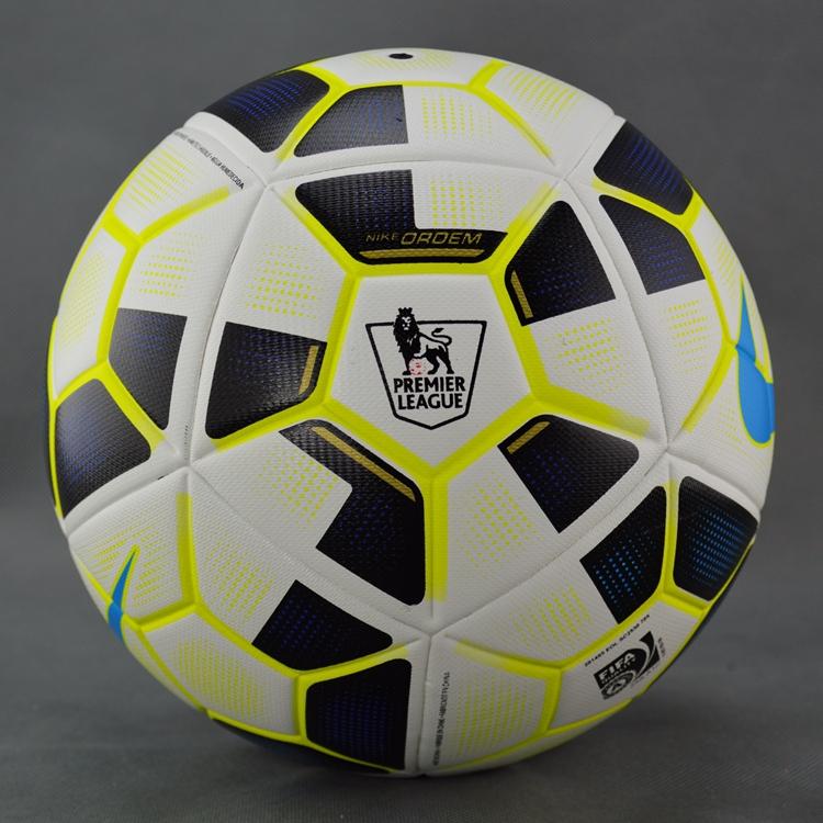 New 2015-2016 Premier League/La Liga match&train football granules slip-resistant soccer ball seamless Size 5 Football Ball(China (Mainland))
