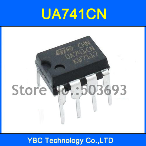 100PCS UA741CN UA741 OP Amp LM741 741 IC DIP-8(China (Mainland))