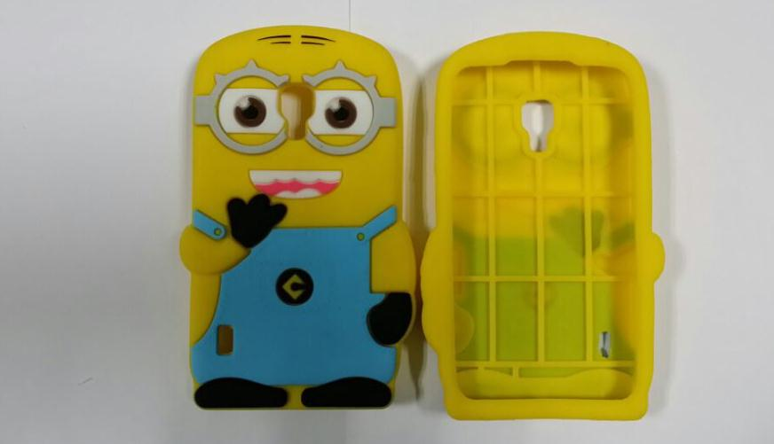 LG Optimus L7 II Dual P715 New 3D Cartoon Despicable 2 Two Eye Soft Silicone Cover Phone Case Free Drop Shipping