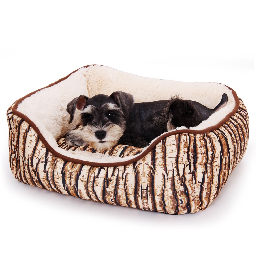 Domestic Delivery Pet Dog Bed Dog House Warm Trees shape Dog Kennel Soft Thicken Puppy Cat Cushion Couch Basket Sofa Bed Mat(China (Mainland))
