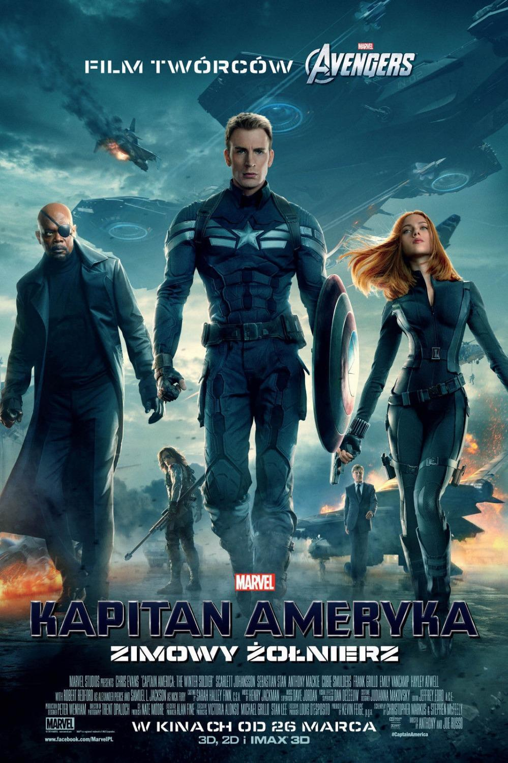 0716 40X60cm Captain America 2 2014 Winter Soldier USA Hero Hot Movie Poster - wall sticker Home Decor poster