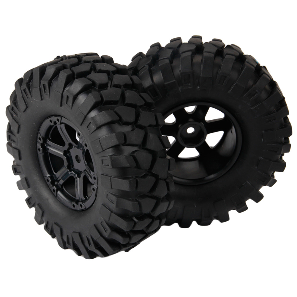 4pcs Off Road 108mm RC Climbing Rock Crawler Tires Tyre and Wheels for Axial 1/10 RC Crawler Buggy Car(China (Mainland))