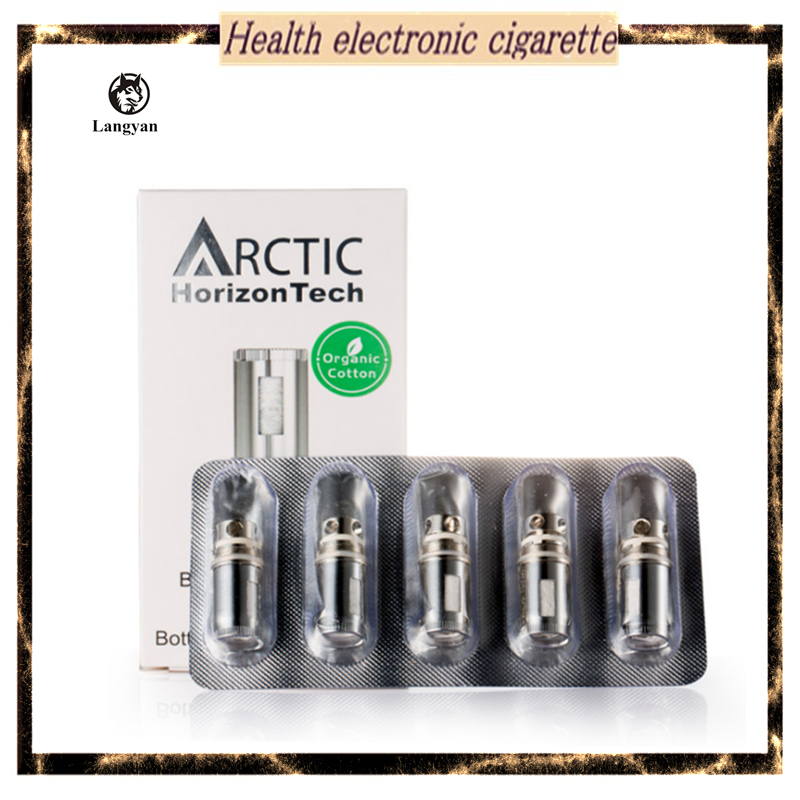 5pcs/lot Horizon Arctic BTDC Coils Head Arctic Atomizer Coil Head Replacement Coils for Arctic Clearomizer Arctic sub tank(China (Mainland))