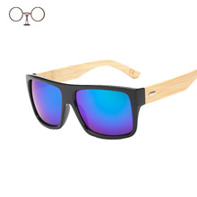 High Quality Bamboo Sunglasses Men Wooden Goggles Women Brand Designer Original Wood Sun Glasses Big Size Eyewares Oculos K1523