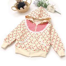 Wholesale – korean fashion hot top sale 2014 new arrival kids gilrs infant spring autmun shivering jacket cardigan coat princess