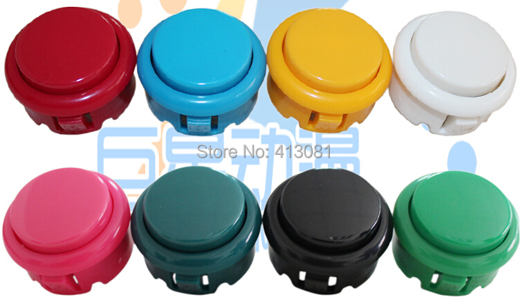 Button imate sanwa 30mm cassette button arcade button(China (Mainland))