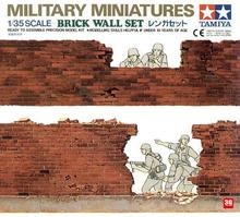 Tamiya model 35028 1/35 Military assembly scene / brick wall Suit MD - KNL Hobby Model store
