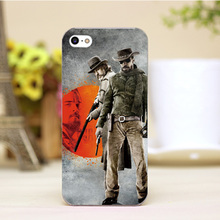 pz0004-6-4 For Django Unchained Movie Poster Design cellphone transparent cover cases for iphone 4 5 5c 5s 6 6plus Hard Shell