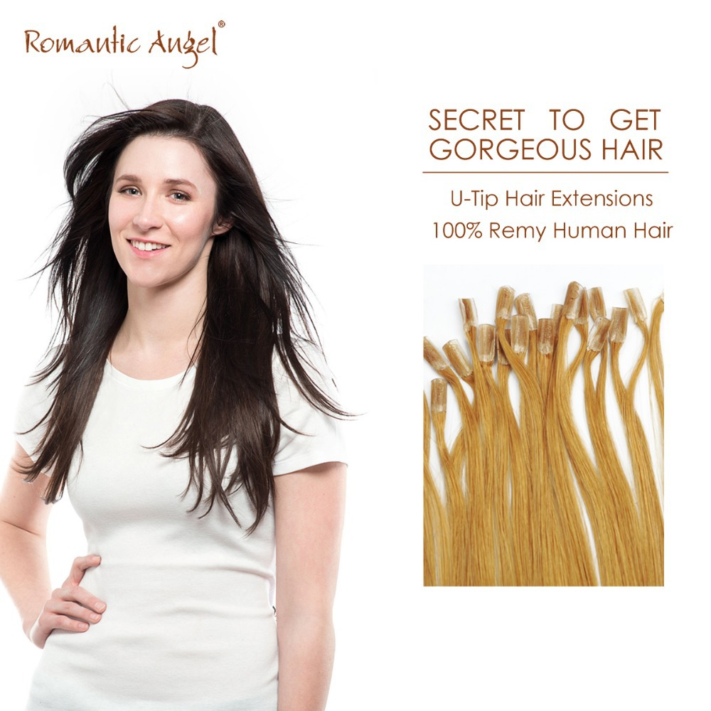 16 20 24 inches 40 50 60 cm pre bonded u tip hair extensions 100 brazilian remy human hair hot. Black Bedroom Furniture Sets. Home Design Ideas